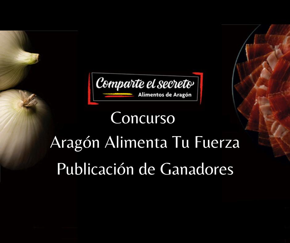 Concurso Aragón Alimenta Tu Fuerza