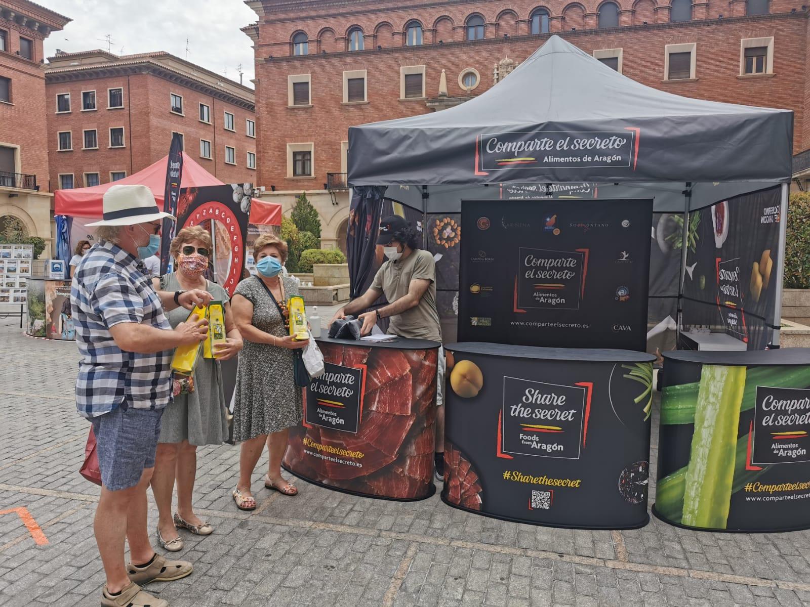Participantes concurso redes sociales y rosco de los alimentos de Aragón