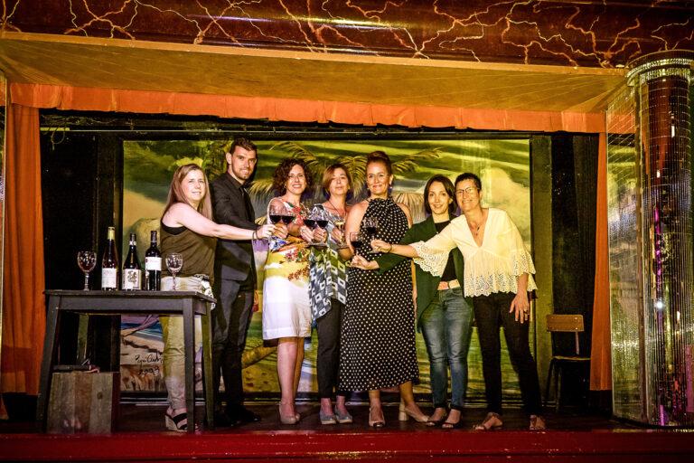 Mujeres y vino en Aragon