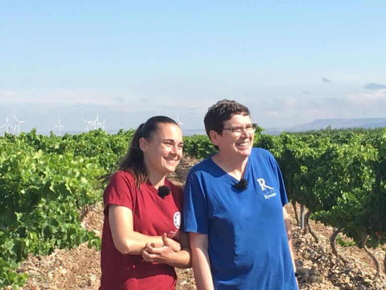 Susana Ruberte primera enóloga en Aragón