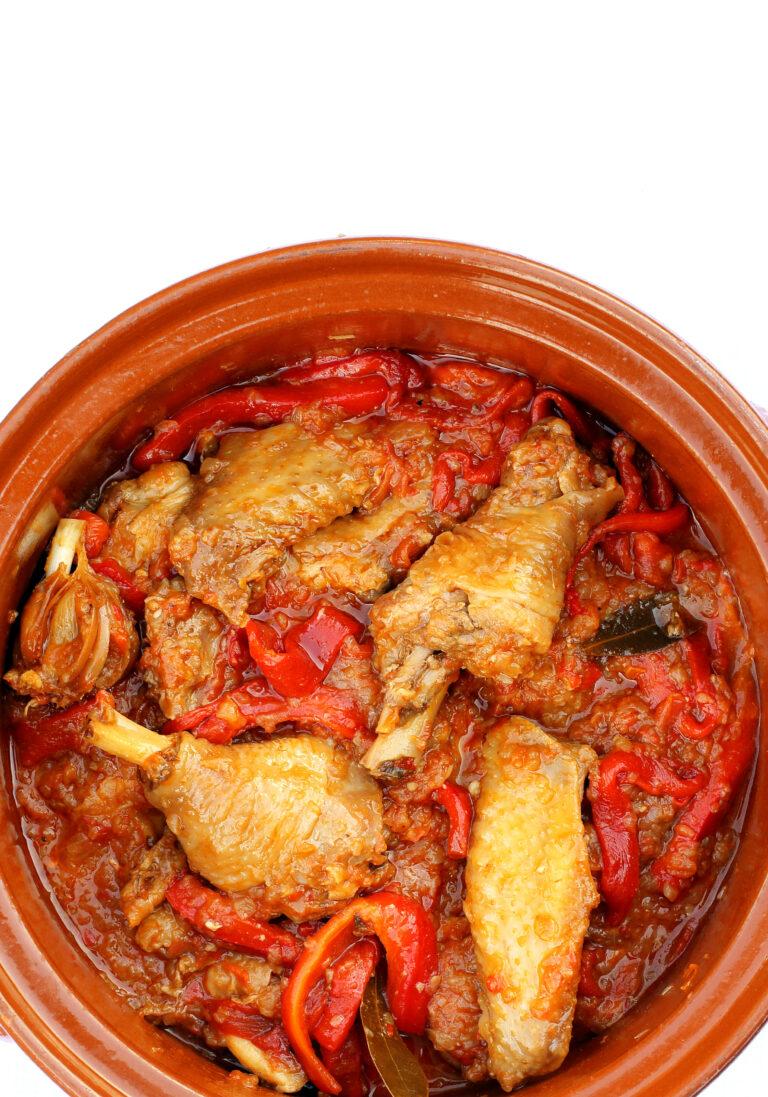 Pollo al chilindrón de Carmelo Bosque con Aragón Alimentos