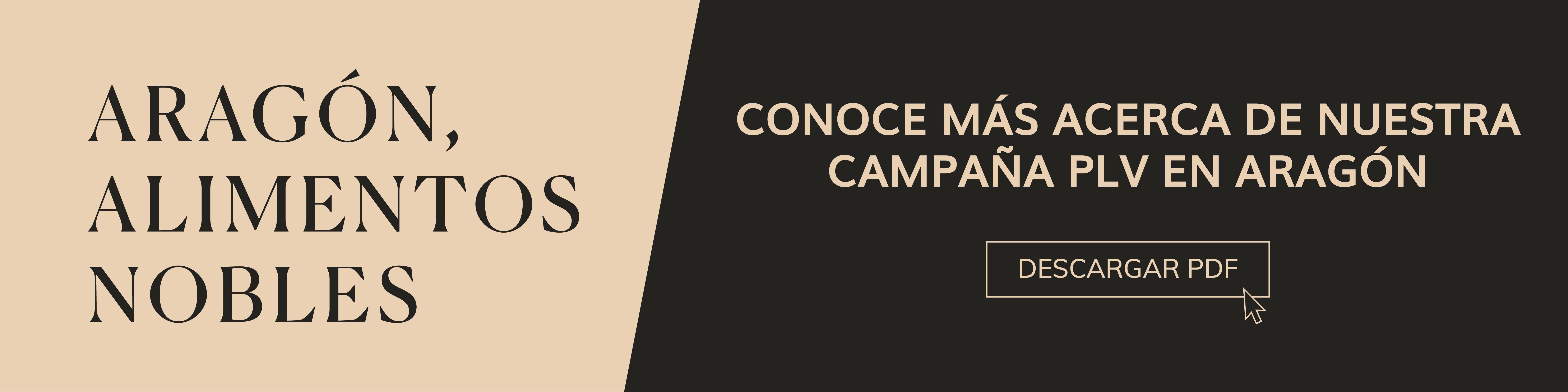Campaña PLV Aragon