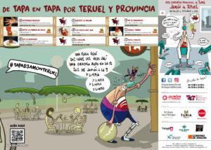 Desplegable Concurso de Tapas Jamón de Teruel 2020
