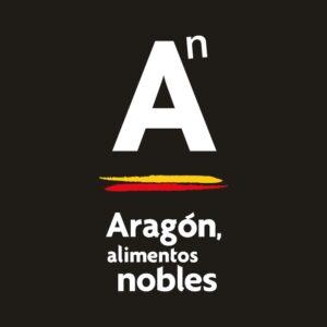 """Nuevo logo """"Aragón, alimentos nobles"""""""