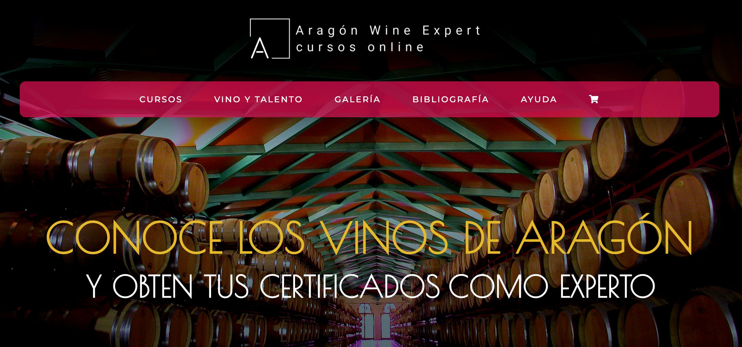 aragon wine expert formación online