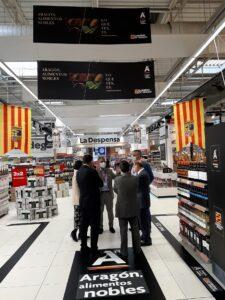Declaraciones Carmen Urbano campaña interactiva de Aragon Alimentos Nobles en Carrefour