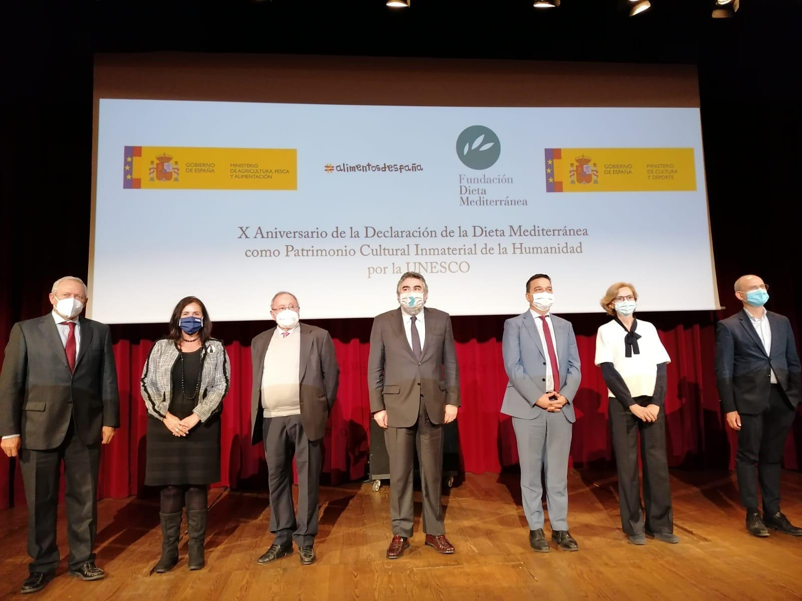 Celebración del décimo aniversario de la Dieta Mediterránea como Patrimonio Cultural Inmaterial