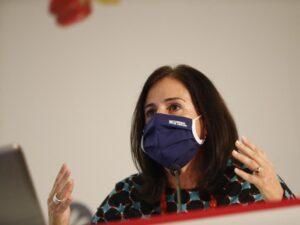 Carmen Urbano en Congreso de Gastronomia y Salud