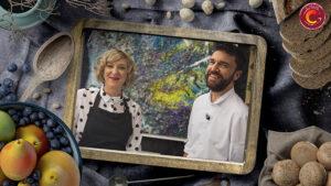 Daniel Yrazno y Aitana Muñoz La Pera Limonera - Campaña Aragón Alimentos Nobles