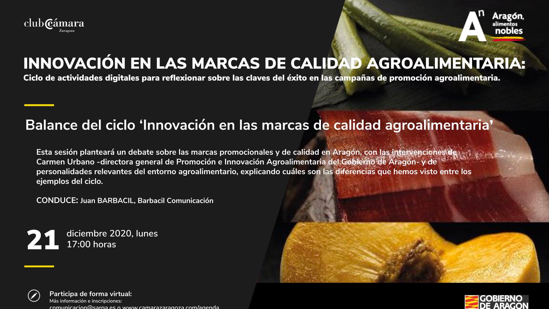 Jornada Balance Ciclo de Innovación en marcas de calidad agroalimentaria