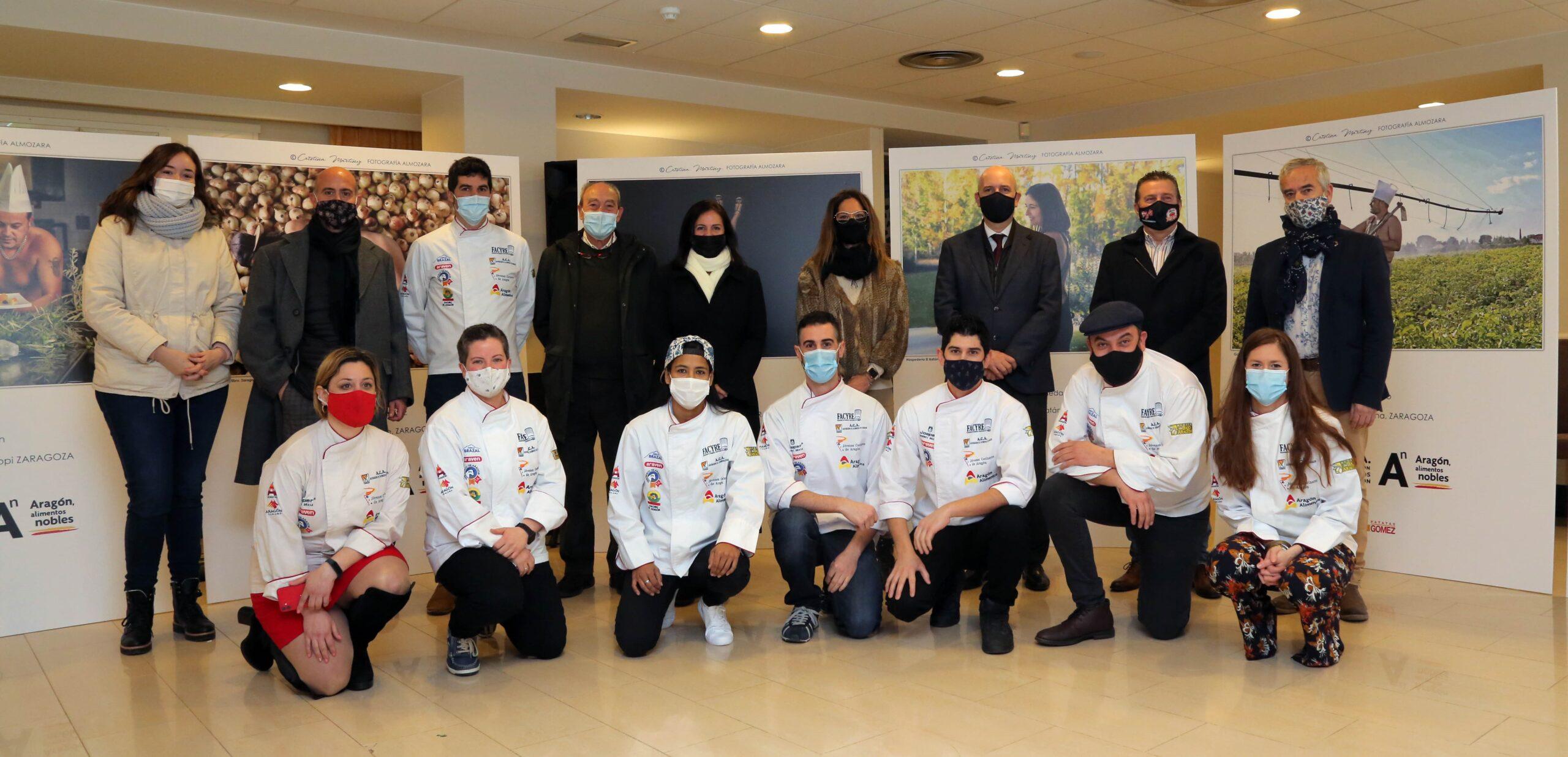 Calendario solidario cocineros de Aragón