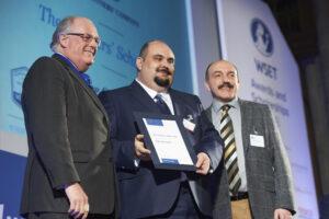 Orte recibe el premio The Vintners' Scholarship