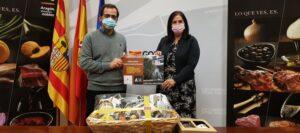 Carmen Urbano entrega los premios Slow Food