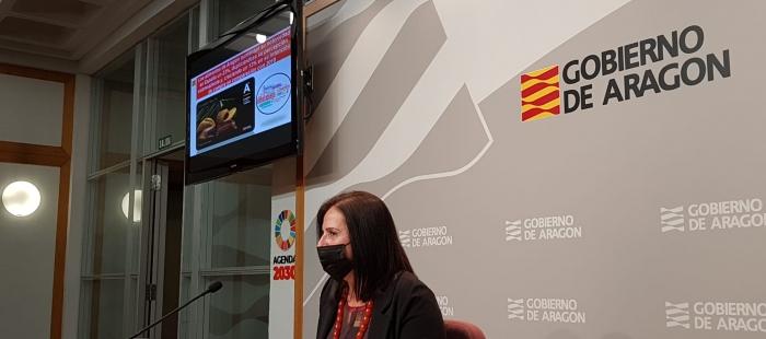 """Carmen Urbano presenta los resultados de la campaña """"Aragón, alimentos nobles"""""""