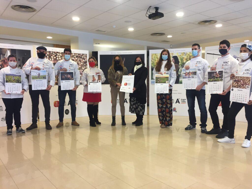 Calendario solidario cocineros de aragon