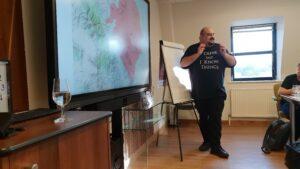 Jorge Orte durante sus clases