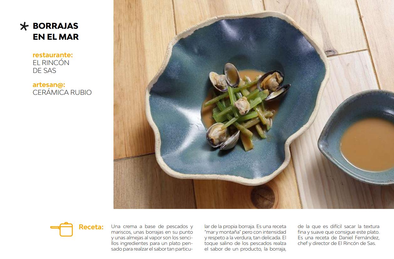 Catálogo de vajilla artesana Gastroartesania