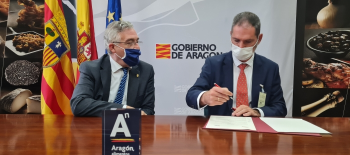 Acuerdo Gobierno de Aragón con Eroski