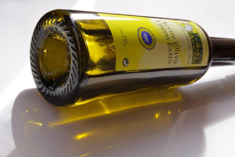 aceite del bajo aragon DOP