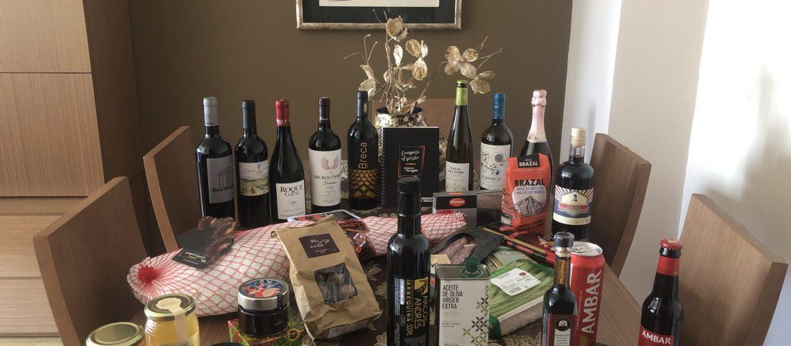 Bodegon con Alimentos de Aragon