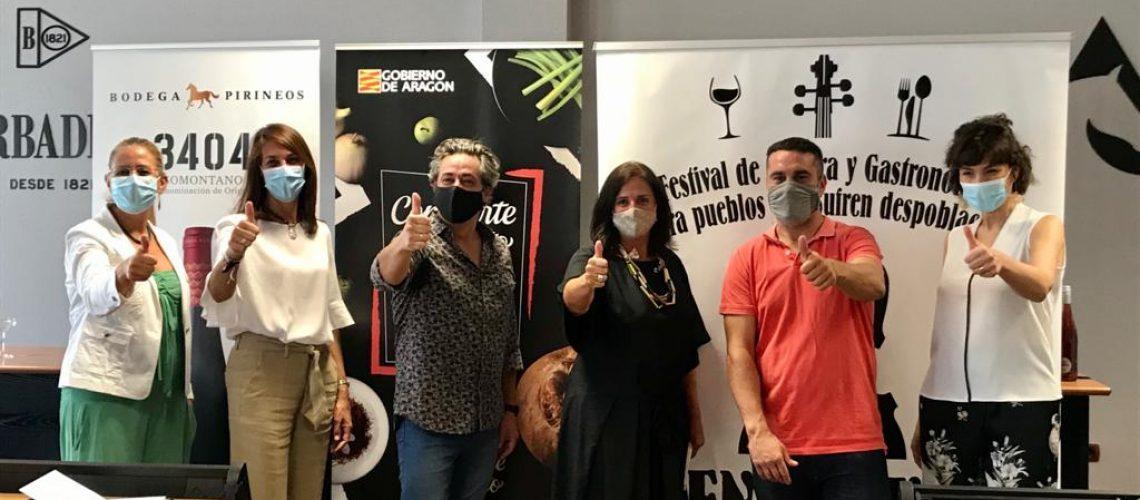 Comparte El Secreto apoya el Festival En Clave de Aragón