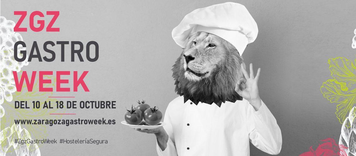 Evento gastronómico Zaragoza GastroWeek Web