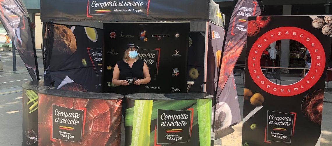 Exposición Descubre Aragón y Comparte El Secreto