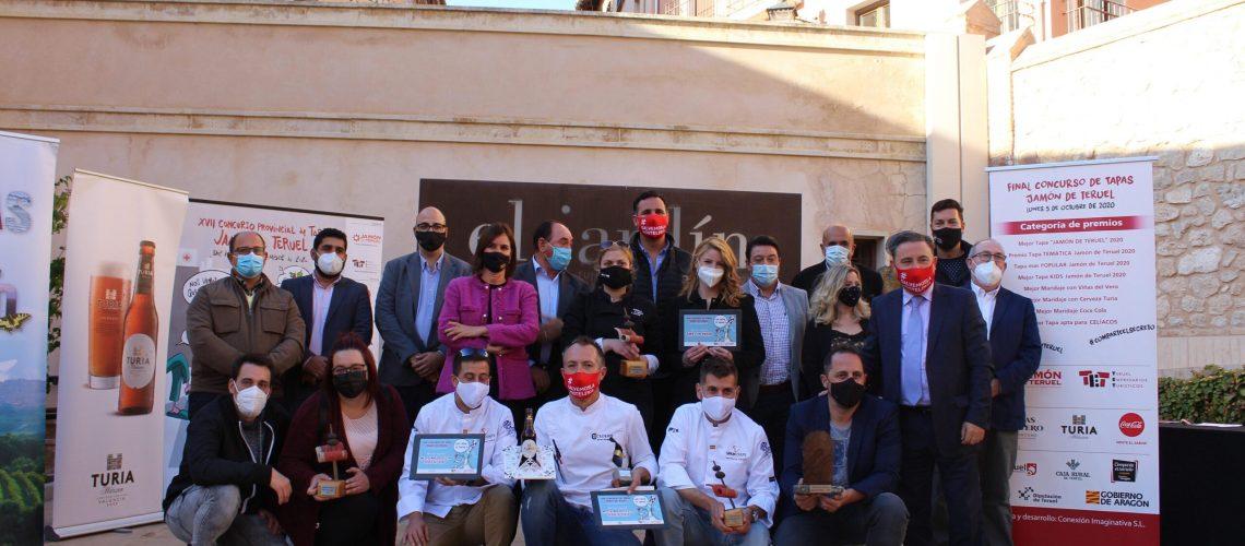 Ganadores concurso de tapas jamón de Teruel 2020