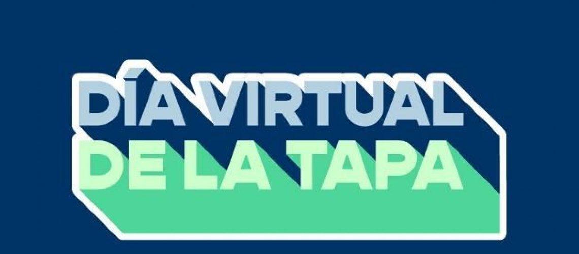 cartel dia virtual de la tapa