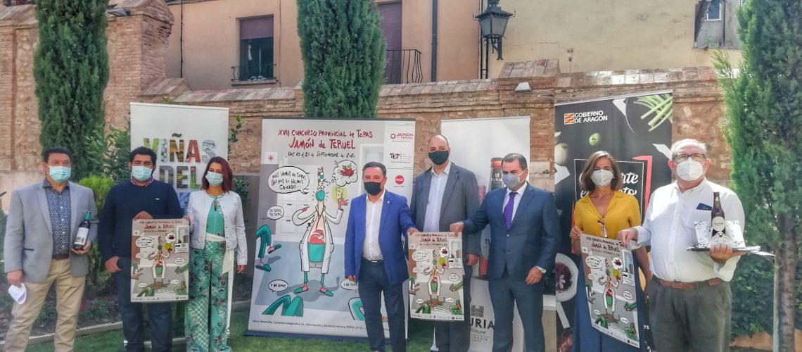 Presentación del Concurso de Tapas Jamón de Teruel